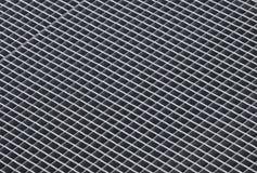 Texture approximative grise de fond de grille en métal Images libres de droits