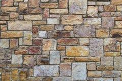 Texture approximative orange de briques Photos libres de droits