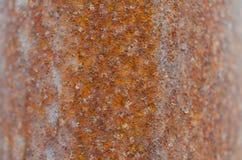 Texture approximative rouillée de surface métallique photos libres de droits
