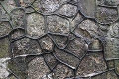 Fond architectural de vieux mur de briques Photos libres de droits