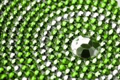 texture argentée avec des cristaux photos libres de droits