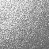 Texture argentée en métal de roche Images stock