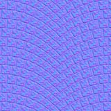 Texture arquée 000 de trottoir de pavé rond - carte normale illustration stock