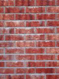 Texture of red bricks wall royalty free stock images