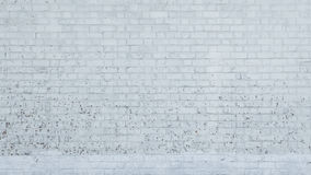 Texture of arranged white brick wall use as background,backdrop Royalty Free Stock Photography