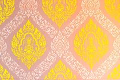 Texture art thai style Royalty Free Stock Image