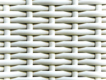 Texture of artificial bamboo weave furniture Stock Photos