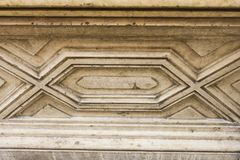 Artificial decorative stone facade. Royalty Free Stock Images