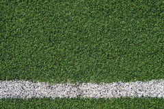 Texture of artificial grass ground Royalty Free Stock Photography