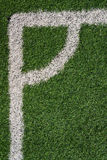 Texture of artificial grass ground Royalty Free Stock Images