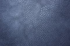 Texture of artificial leather. The texture of a piece of artificial black leather Stock Photo