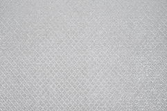 Texture of artificial leather. Texture of the white artificial leather, rhombus Royalty Free Stock Photos
