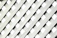 Texture of Artificial Wood Lattice Fence. Wallpaper Royalty Free Stock Photography