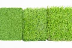 Texture artificielle d'herbe Image stock