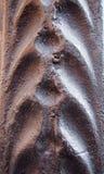 Texture artistique en métal Photographie stock libre de droits