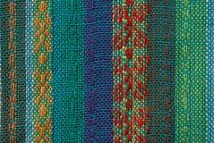 Texture asiatique de tissu Images libres de droits