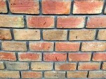 Texture assortie de mur de briques images libres de droits