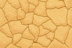 Texture au sol criquée Photographie stock libre de droits