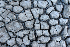 Texture au sol sèche criquée Images stock