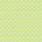 Texture avec des fleurs et des points Photo stock