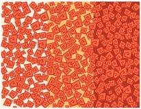 Texture aztèque illustration de vecteur