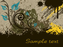 Texture background with artistic design Royalty Free Stock Photography
