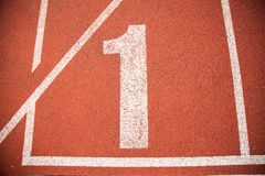 Texture background Athletics Track Lane Stock Photos
