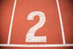 Texture background Athletics Track Lane Stock Photo