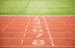 Texture background Athletics Track Lane Royalty Free Stock Images