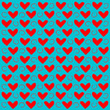 Texture background. Background drawn with hearts. Love. Texture of Hearts. Texture background. Background drawn with hearts. Love Royalty Free Illustration