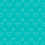 Texture background. Background drawn with hearts. Love. Texture of Hearts. Texture background. Background drawn with hearts. Love Vector Illustration
