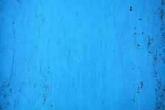 Texture, Background- blue metal plate Stock Photo