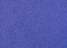 Texture Background of The Blue Plastic Doormat Royalty Free Stock Photos