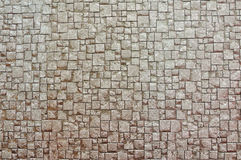 Texture Background of Brown brick wall Royalty Free Stock Images
