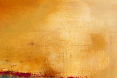 Texture and background on canvas, yellow and orange Stock Photography