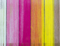Texture background with colorful textiles. Stock Image