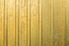 Texture background of corrugated fence Stock Photography