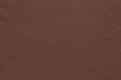 Texture and background of cotton fabric dark brown color Royalty Free Stock Photography
