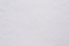 Texture and background of cotton fabric white color Stock Photos