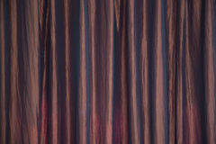 Texture or Background of curtain or drapery Stock Image