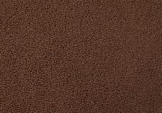 Texture Background of The Dark Brown Plastic Doormat Stock Photo