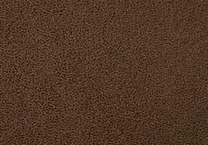 Texture Background of The Dark Brown Plastic Doormat Stock Photography