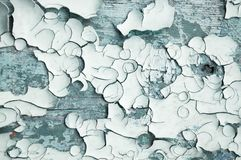 Texture background of dark grey peeling paint Stock Images