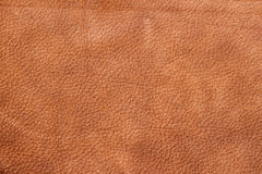 Texture of background for designer, pattern of vintage genuine leather surface. Brown. For background , backdrop Royalty Free Stock Images