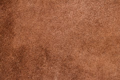 Texture of background for designer, pattern of wrong side genuine leather surface. Brown. For backdrop, substrate Stock Photo