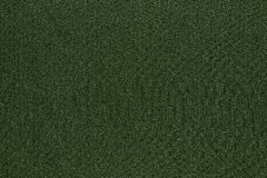 Texture and background of fabric dark green color Stock Images
