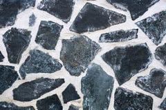 Texture background floor of dark stones Stock Image