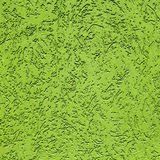 Texture or  background in the form of embossed green wall Stock Image