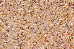 Texture background gravel floor. Brown gravel royalty free stock images