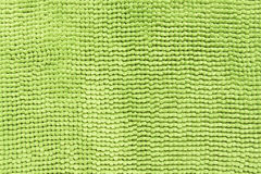 Texture or background of green color fabric Stock Image